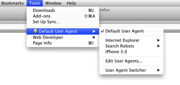 user agent switcher 0.7.3