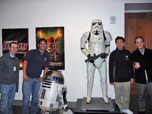 R2-D2 & Stormtrooper