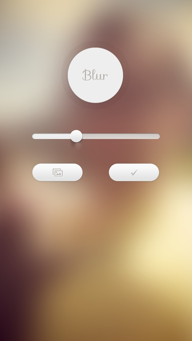 Using Blur To Create A Wallpaper For IOS 7